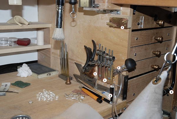 Change Innovation And Modification A Jeweler S Bench On Behance