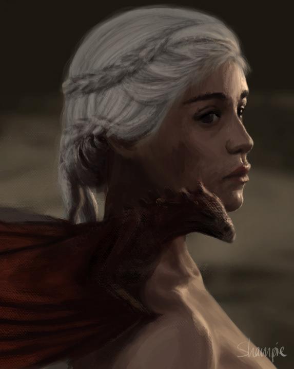 khaleesi daenerys Game of Thrones mother dragon dragons targaryen