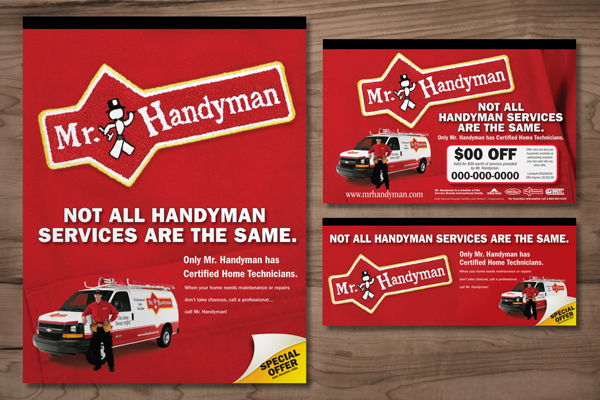 Mr. Handyman - Print Campaigns on Behance