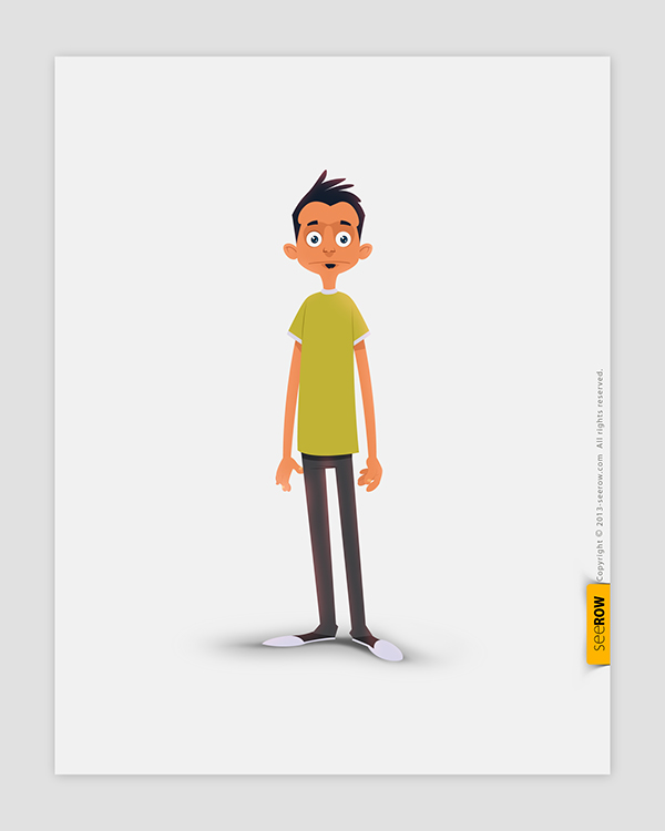 Character Design For Animation In Illustrator : Seerow d character designs on behance