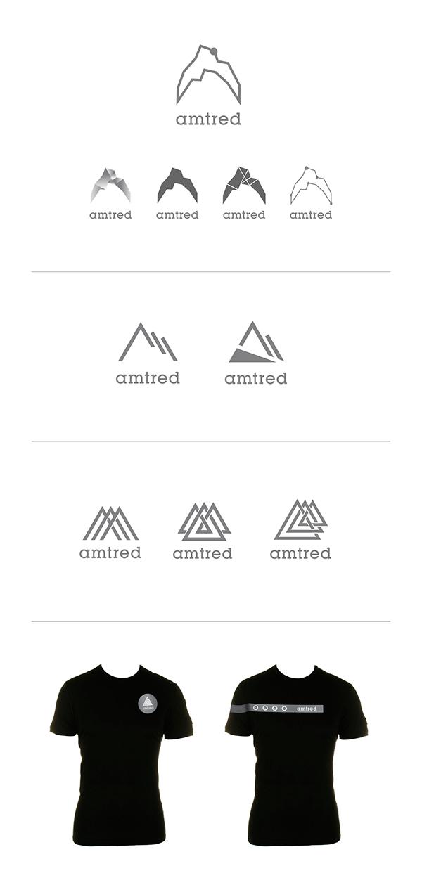 Bike logo t-shirt mountain