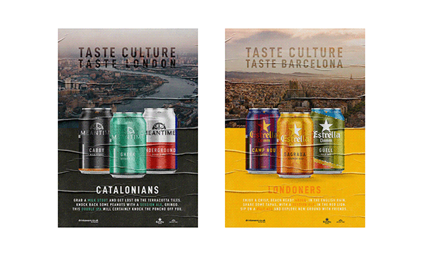 Illustrated Beer Cans - Tale of Two Cities FMP
