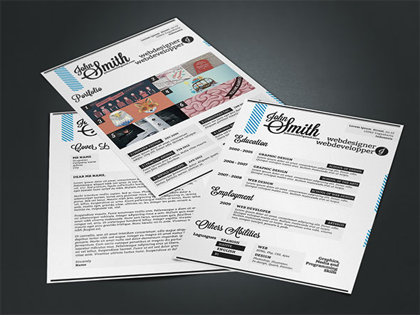Curriculum Vitae Resume free free download CV Personal Identity elegant ready to print easy to edit