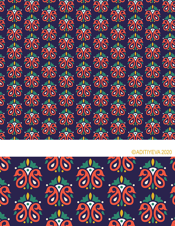 Pattern Illustrations by AditiYeva