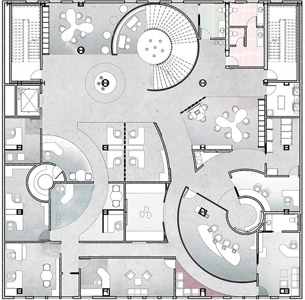 Office Furniture Layout Plan