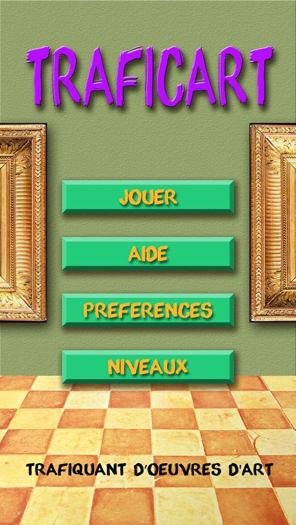 application mobile jeu
