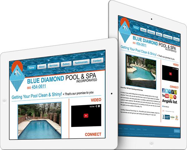 Blue Diamond Pool Service Inc On Behance