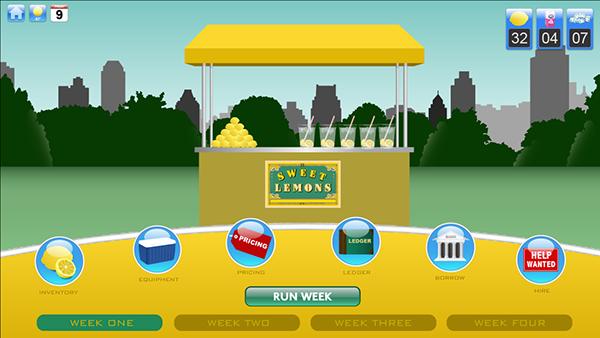 lemonade stand game report
