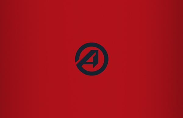 logo,Advantage,Brand Design,red,White,blue