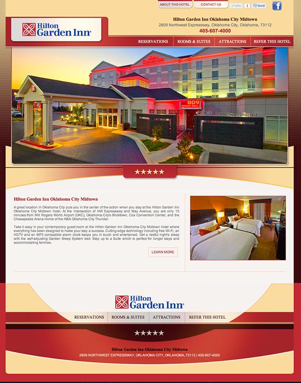 hilton garden inn oklahoma city on behance - Hilton Garden Inn Okc