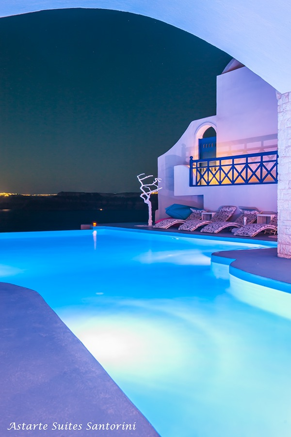 Astarte suites hotel in santorini island greece on behance for Hotels in santorini with infinity pools