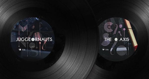 Music Packaging vinyl packaging Midnight Juggernauts Album Packaging vinyl acéphale Siberia