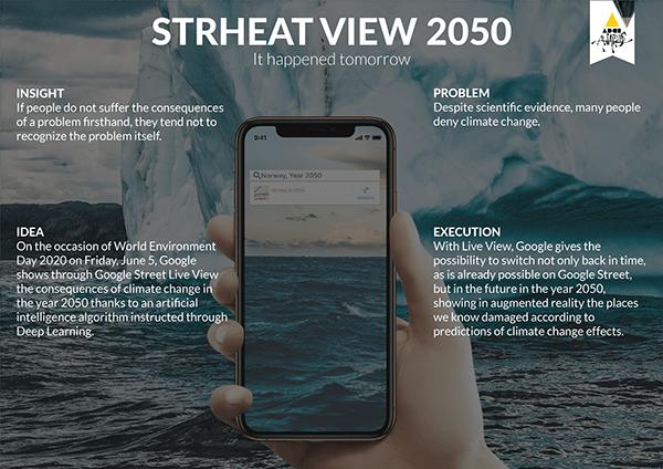 BRONZE at ADCI AWARDS 2020 - Strheat View 2050