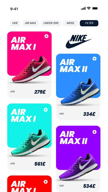 nike air max series