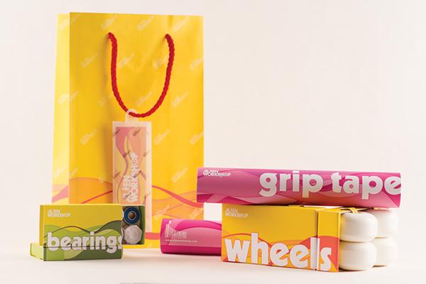 Sports Brand Packaging - Alien Workshop on Behance