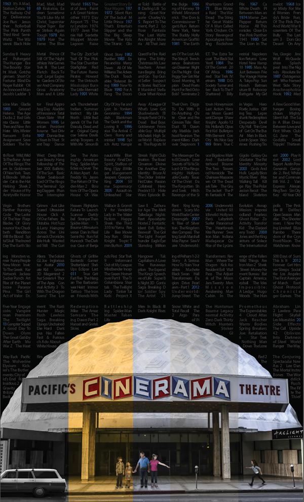 Cinerama Dome 50th Anniversary on Behance