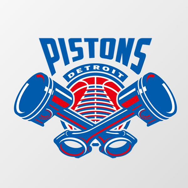 Detroit Pistons Logo Concept On Behance