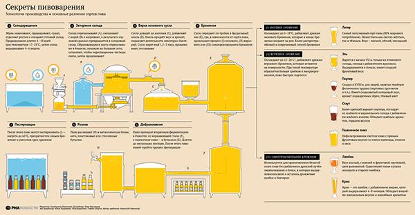 Технология пивоварения домашних условиях