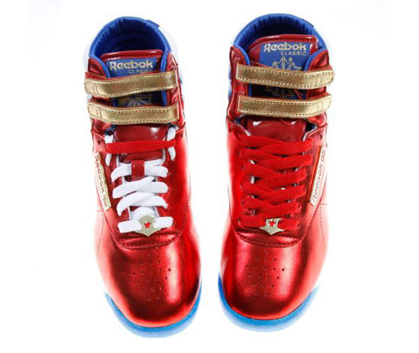 Save to Collection. Follow Following Unfollow. Reebok Freestyle  Super  Heroine (Wonder Woman) 01b690894