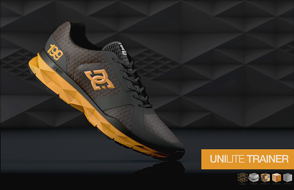 DC Shoes Unilite Trainer on Behance