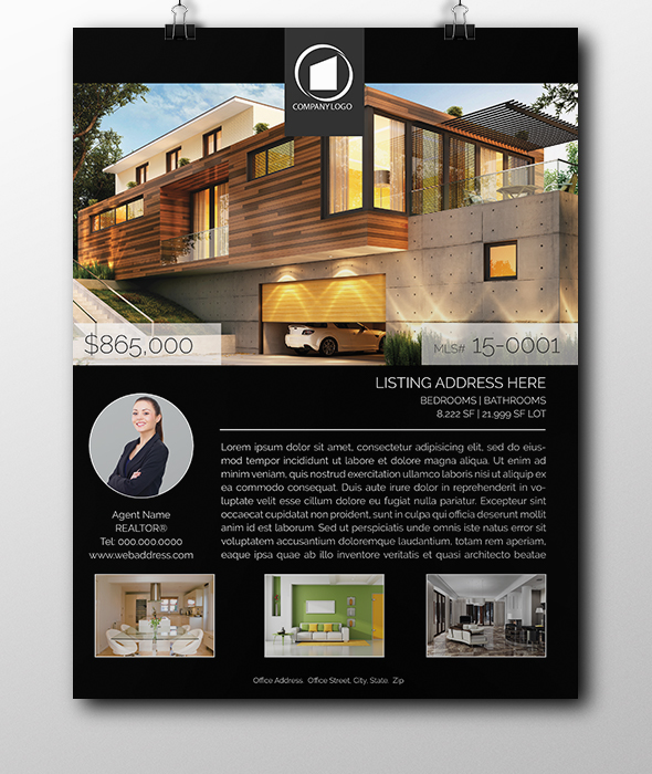 real estate flyers templates MARKETING FLYERS House listing flyers real estate