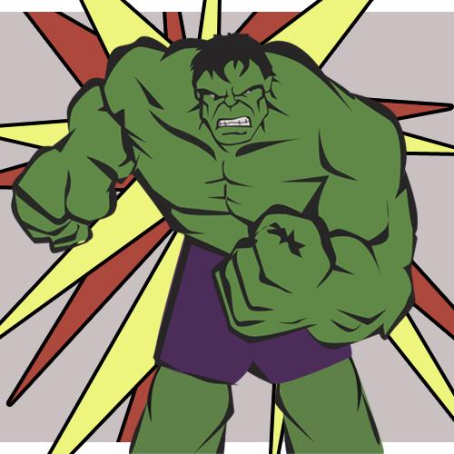 Hulk Comic on Behance