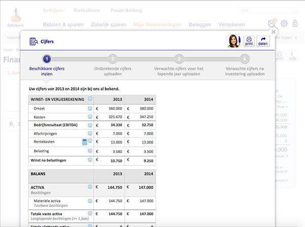 finance banking loan application