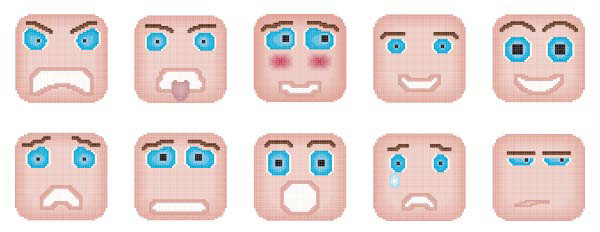 Icon design université laval Pictogramme pictogram emotion