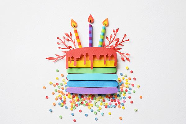 有設計感的19款生日蛋糕圖案欣賞