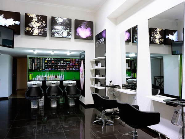 Rumyantseva 39 s beauty salon interior design on behance for Beauty parlour interior designs