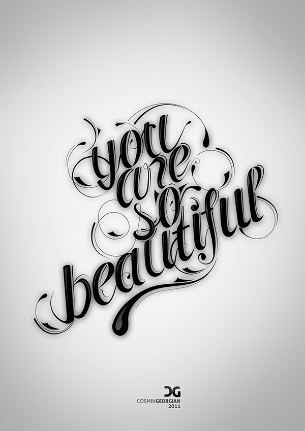 You Are So Beautiful On Behance