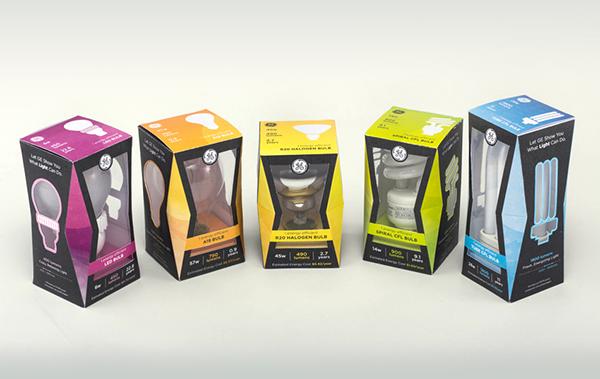 ge package design  Felix Ng cal poly slo cal poly san luis obispo light bulb light bulb packaging