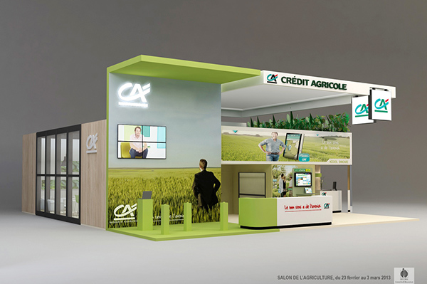 Stand credit agricole salon de l 39 agriculture 2013 paris on - Salon de l agriculture machine agricole ...