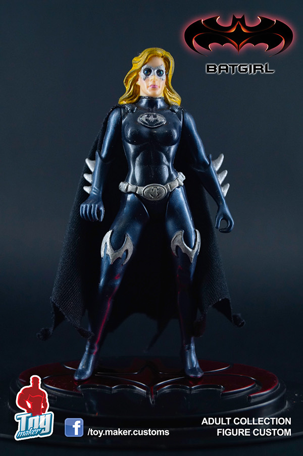 Batgirl 1997 Alicia Silverstone Action Figure on Behance