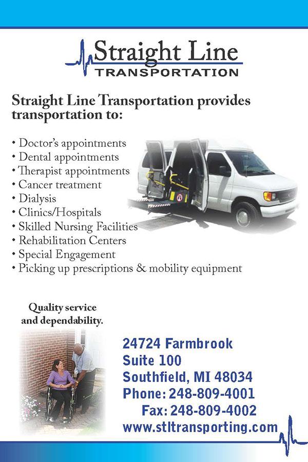 straight line transportation business materials on aiga