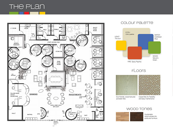 Architectural Interior Design Presentation Boards On Behance