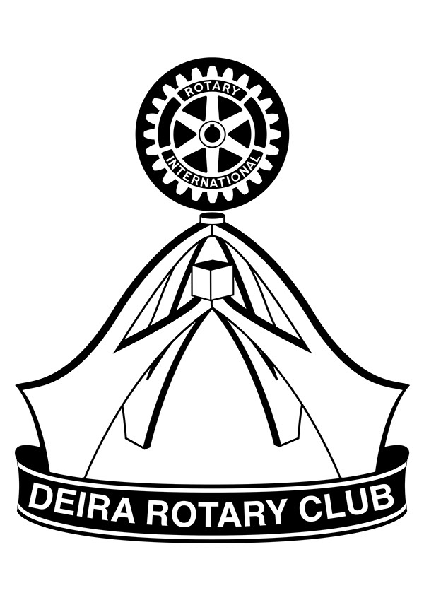 Deira Rotary Club Logo on
