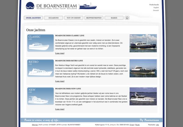 De Boarnstream Webdesign HTML css jeroen rijpstra Van der Let & Partners Identity