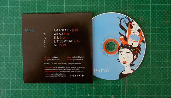 CD COVER FOR THE BAND PRINA