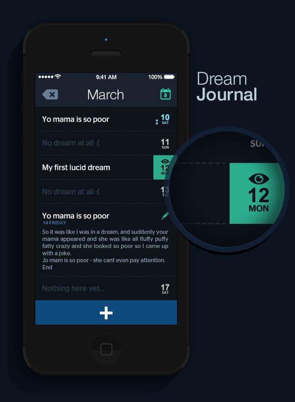 samborek  app  Lucid dream Dreaming lucidity Guide dreamy sleepy sleep application dreams conciseness