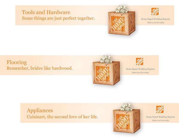 Home Depot Wedding Registry.Home Depot Wedding Registry On Behance