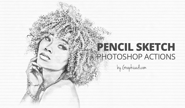 Sketch Action for Photoshop on Pantone Canvas Gallery