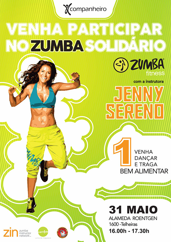 Zumba Fitness Poster Poster For Zumba Dance Fitness