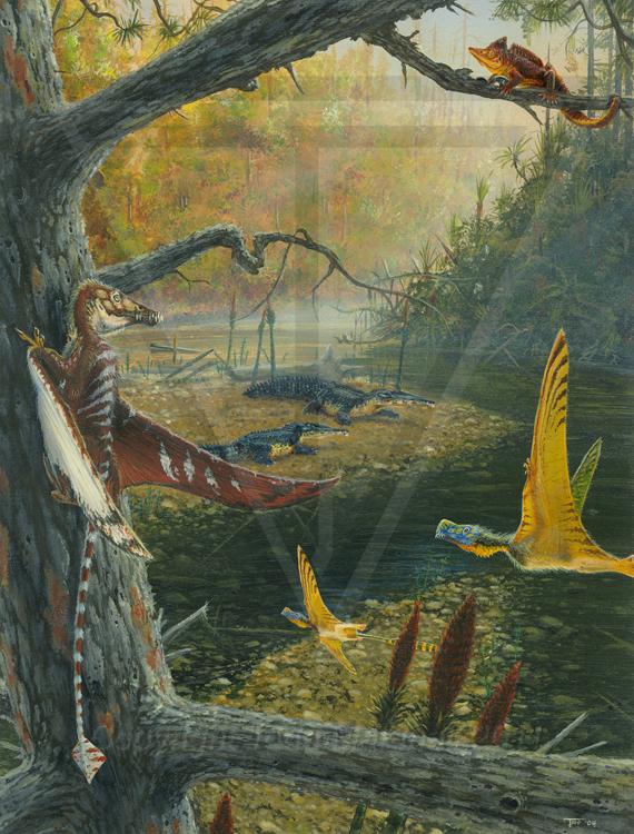 paleoart pterosaurs collection on behance