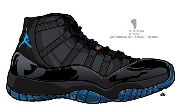 Air Jordan series on Behance