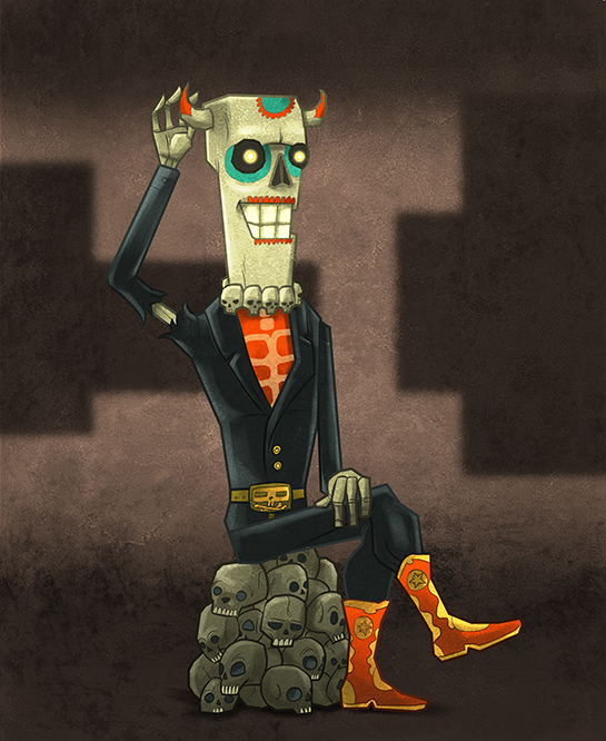 social casino game mobile game Games facebook game app application character art characters Social game F2P casual game mexico Dia De Muertos