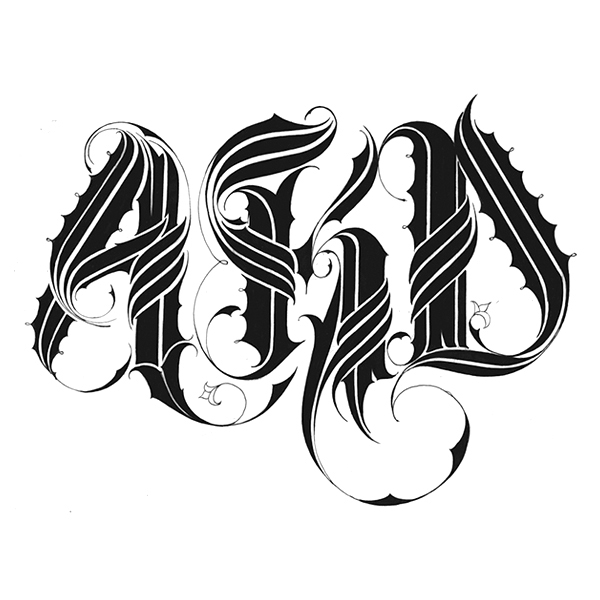 Letras Para Tatuajes 1 On Behance