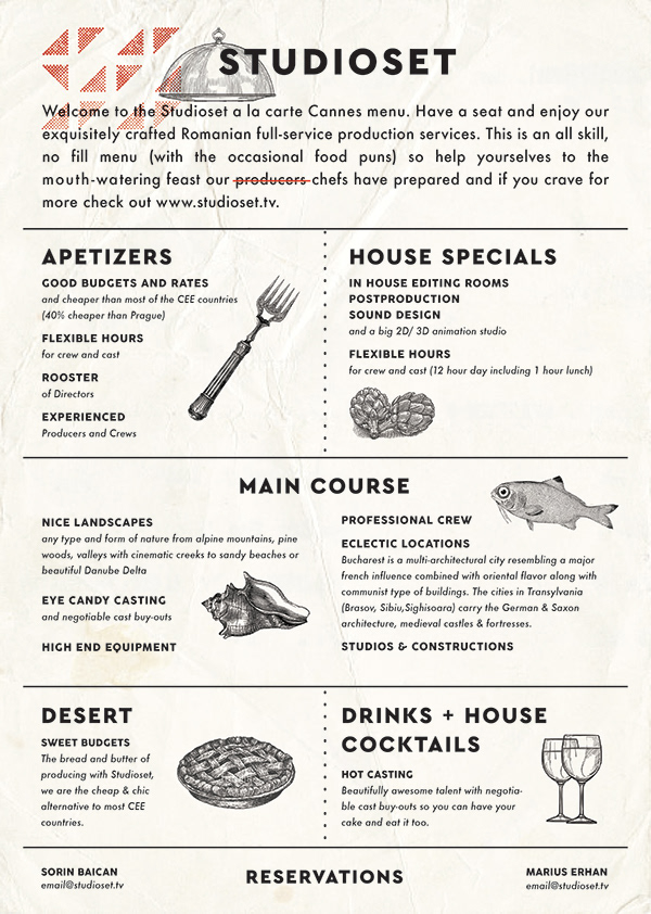 fake restaurant menu on pantone canvas gallery