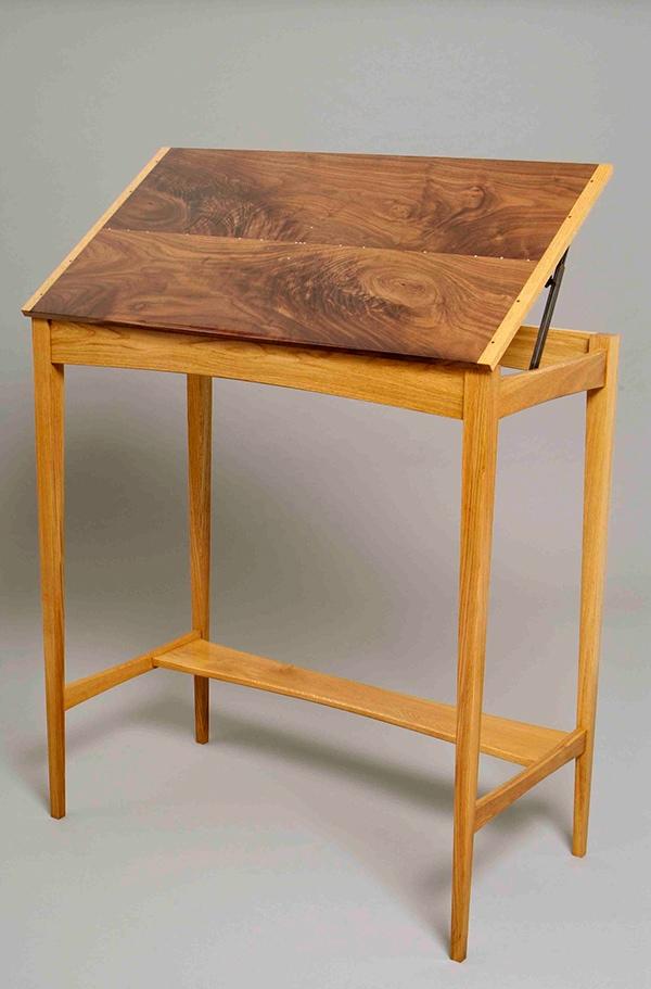 Drafting Table Standing Desk Oak Student
