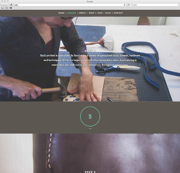 Arrow Leather Works Website / Ecommerce Store